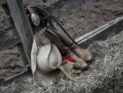 Photograph - Western Accessories by Susan Candelario