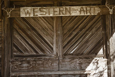 Photograph - Western Art Barn Doors In Color 3003.02 by M K Miller