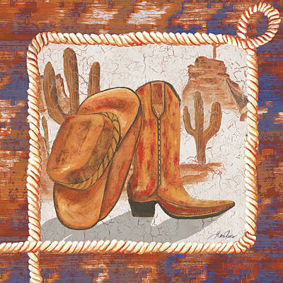 Western Art I Art Print