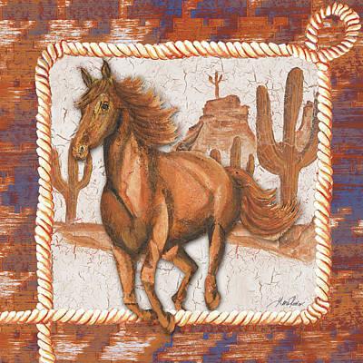 Western Art Iv Art Print