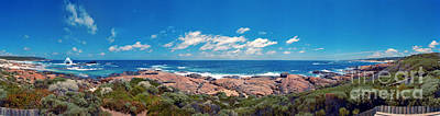 Photograph - Western Australia Redrgate Beach Near Margaret River by David Zanzinger