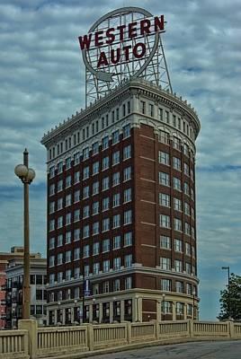 Photograph - Western Auto Building Kansas City by Tim McCullough