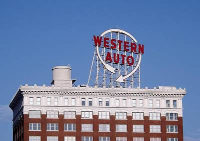 Western Auto Building Of Kansas City Missouri Art Print