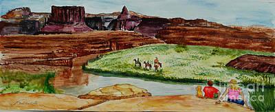 Western Canyons Art Print