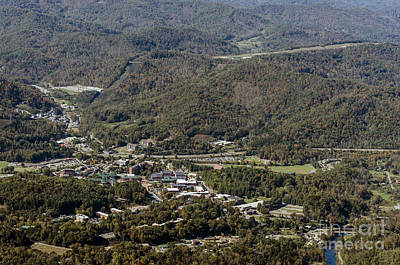 Cullowhee Photograph - Western Carolina University Campus by David Oppenheimer