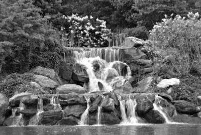 Photograph - Western Carolina Waterfall by Amber Summerow