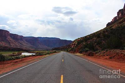 Western Colorado Drive Art Print