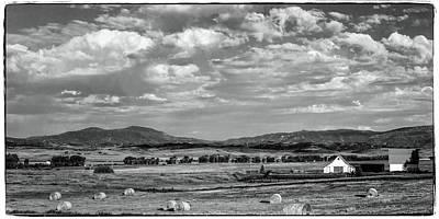 Photograph - Western Colorado Ranch by John McArthur