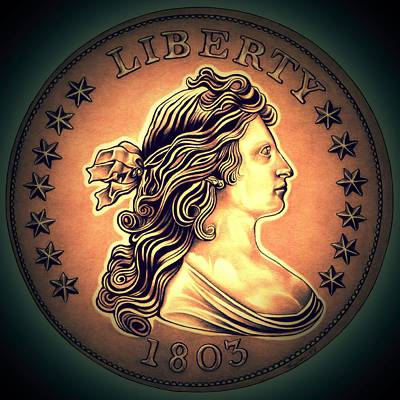 Western Draped Bust Liberty Dollar Original