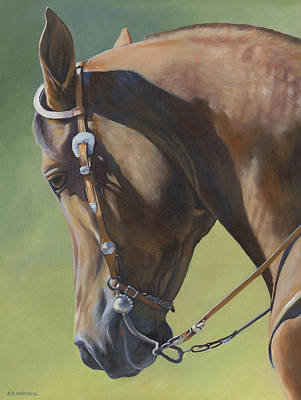 Painting - Western Elegance by Alecia Underhill