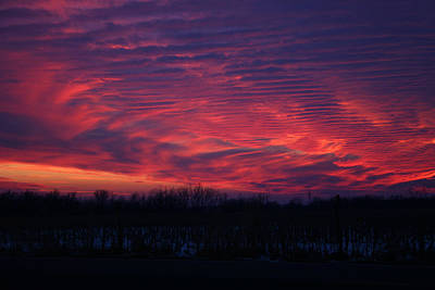 Photograph - Western Evening by Ben Shields