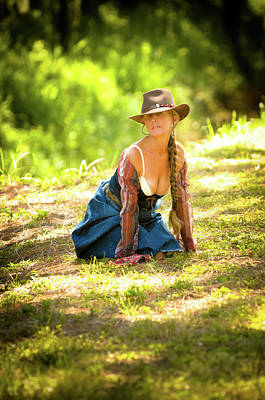 Photograph - Western Free Spirit  by Nancy Taylor