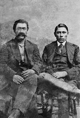 Photograph - Western Frontiersmen by Underwood Archives