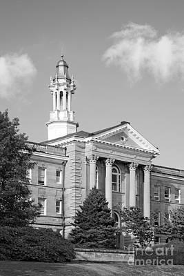 Photograph - Western Illinois University Sherman Hall by University Icons