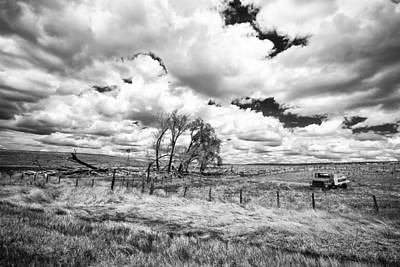 Art Print featuring the photograph Western Kansas by Jay Stockhaus