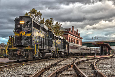 Photograph - Western Maryland Scenic Railroad by Jeannette Hunt