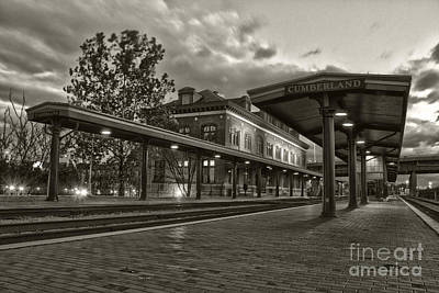 Photograph - Western Maryland Scenic Railroad Station by Jeannette Hunt