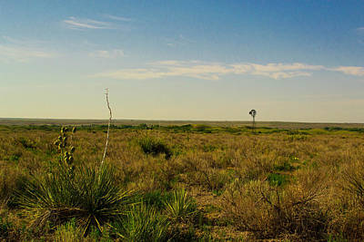 Photograph - Western Oklahoma Scene by Nathan Hillis