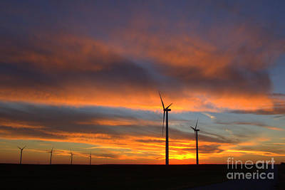 Art Print featuring the photograph Western Oklahoma Skies 1 by Jim McCain