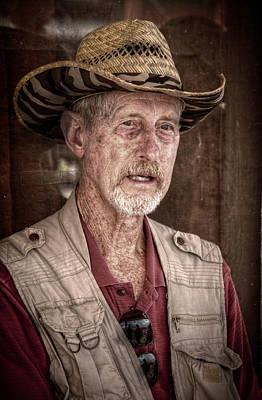Portaits Digital Art - Western Photographer by Linda Unger
