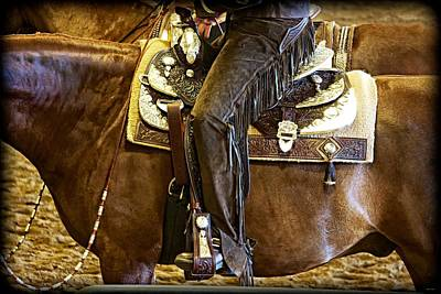 Scottsdale Digital Art - Western Pleasure Competition by Barbara Zahno