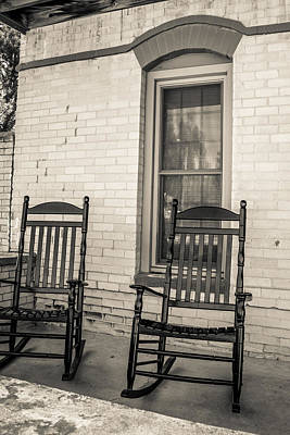 Photograph - Western Rocking Chairs by Dawn Romine