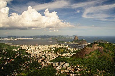 Photograph - Western Shore Of The Guanabara Bay Rio De Janeiro by Celso Diniz