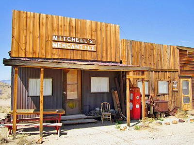 Photograph - Western Store by Marilyn Diaz