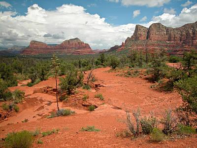 Photograph - Western Terrain Near Sedona Arizona  by Rob Huntley