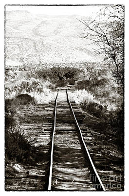Photograph - Western Tracks by John Rizzuto