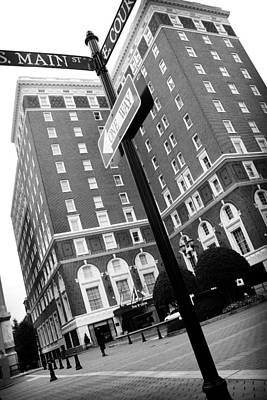 Photograph - Westin Poinsett Behind S.main And E.court by Kelly Hazel