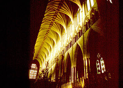Photograph - Westminster Abbey Detail by Robert  Rodvik
