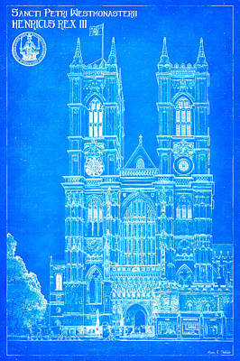 Photograph - Westminster Abbey Foundations - Blueprint For A Legacy by Mark E Tisdale