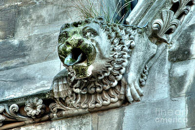 Photograph - Westminster Abbey Gargoyle 4 by Deborah Smolinske