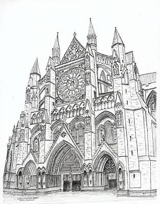Westminster Abbey London England Original