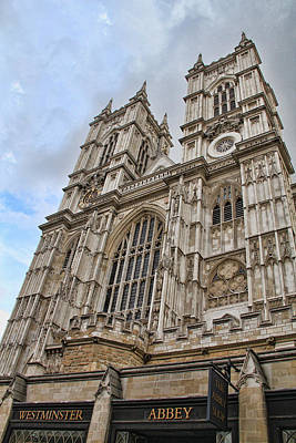 Photograph - Westminster Abbey by Nancy Ingersoll