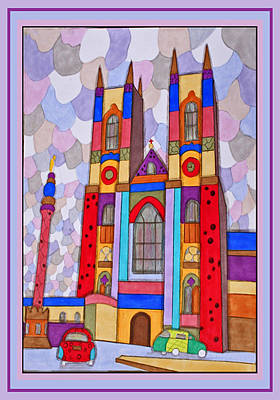 Westminster Abbey Mixed Media - Westminster Abbey by Raela K