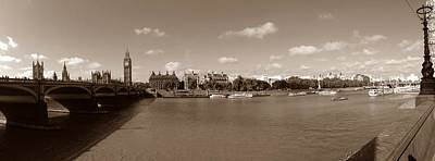 Victoria Embankment Photograph - Westminster And Big Ben by Steve K