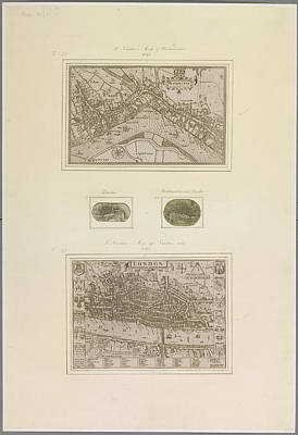 Cartography Photograph - Westminster And London by British Library