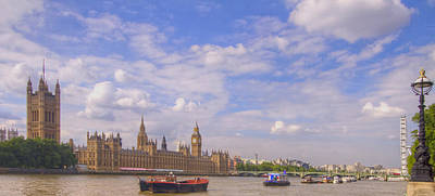 Photograph - Westminster  Bridge Hdr by David French