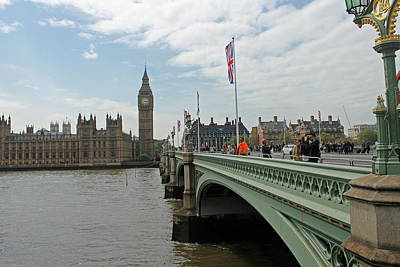Photograph - Westminster Bridge by Tony Murtagh