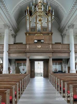 Saint Christopher Photograph - Westminster College Chapel by David Bearden