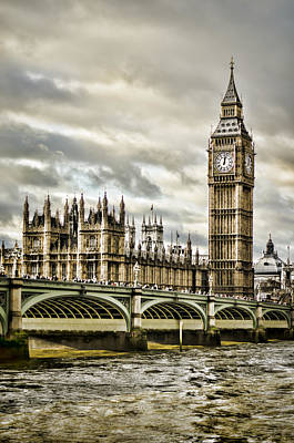 Westminster Palace Photograph - Westminster by Heather Applegate