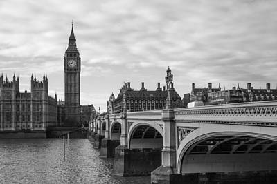 Photograph - Westminster by Kevin Ferris