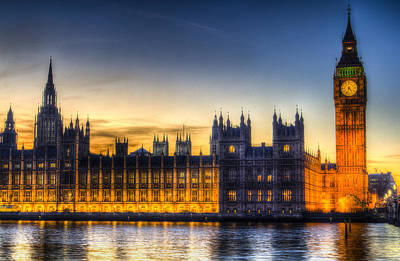 Photograph - Westminster London by David Pyatt