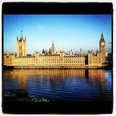 Photograph - Westminster Reflections by Maeve O Connell