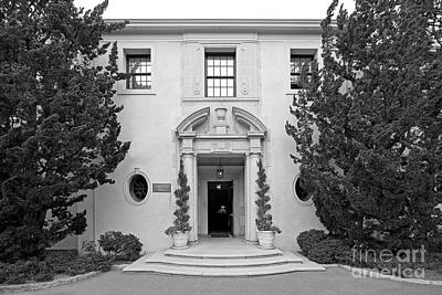 Of Santa Barbara Photograph - Westmont College Kerrwood Hall by University Icons