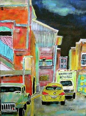Litvack Painting - Westmount Lane by Michael Litvack
