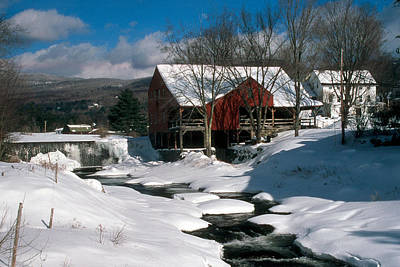 Photograph - Weston Mill by Paul Miller