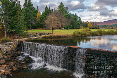 Photograph - Weston Mill Waterfall by Sharon Seaward